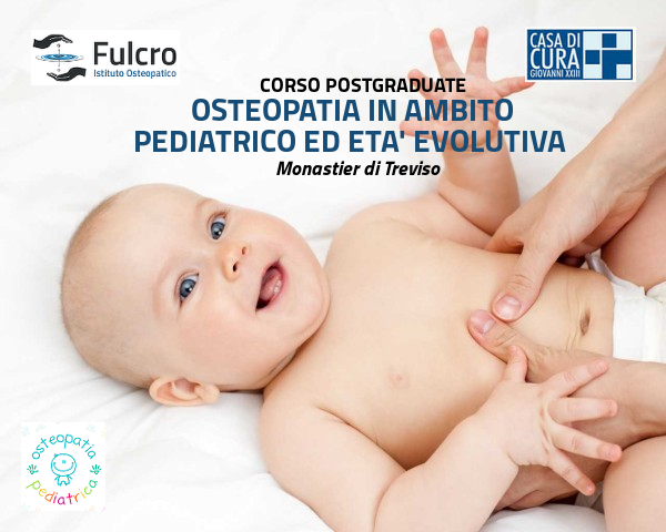 OSTEOPATIA IN AMBITO PEDIATRICO ED ETA' EVOLUTIVA 2020-21